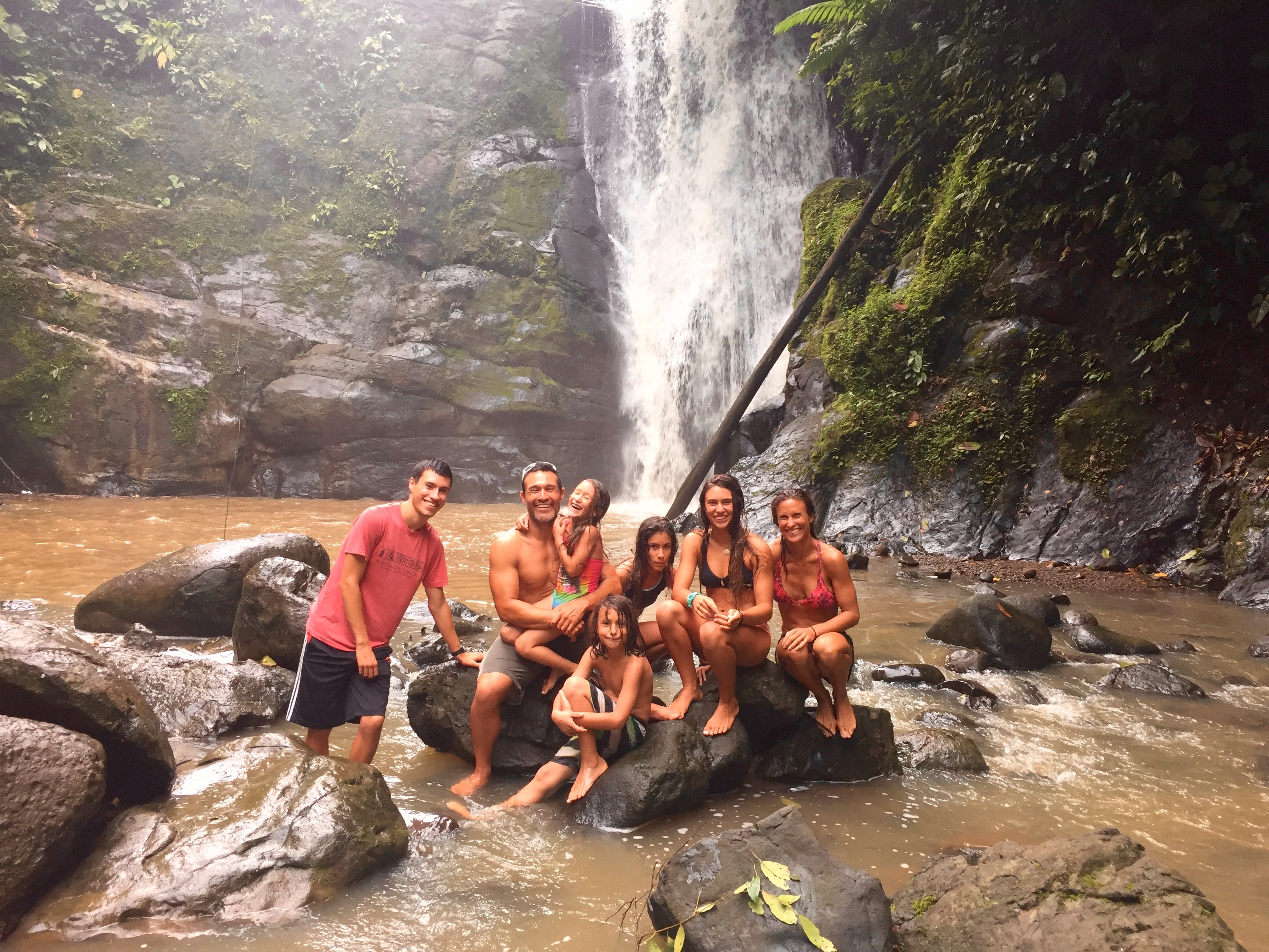 Waterfall Exploration on Caribbean Costa Rica