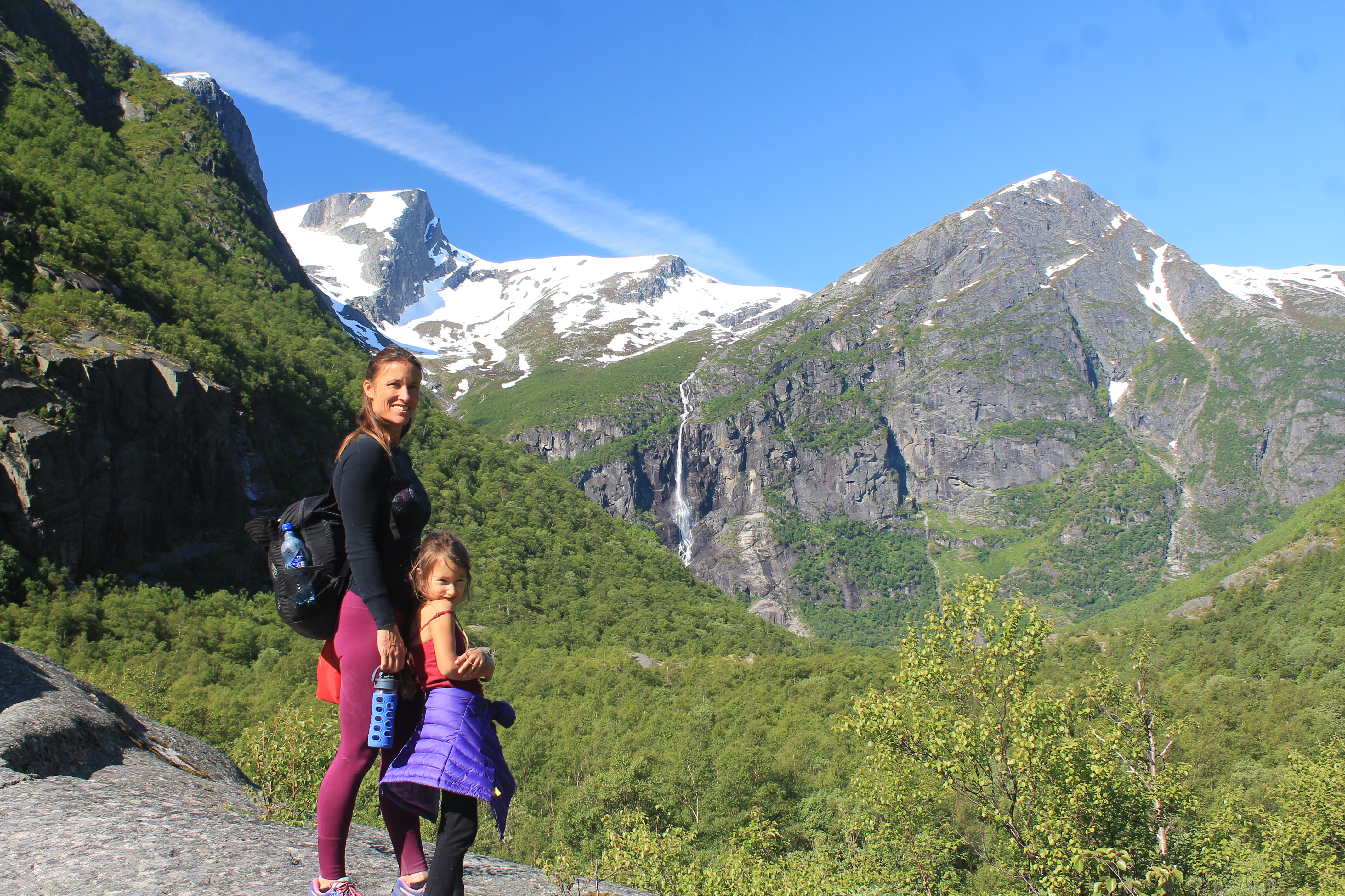 Showing Our Youngest The Raw Beauty of Norway