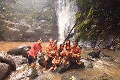 Waterfall Exploration on Caribbean Costa Rica