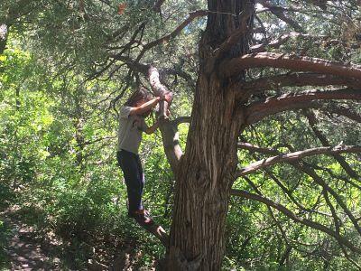 rock climbing, kids, family travel, Colorado, Glenwood Springs