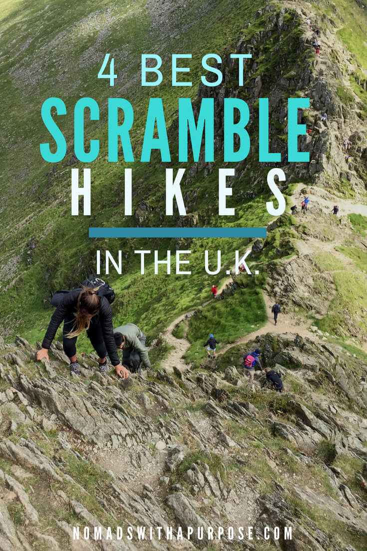 4 best scramble hikes in the UK