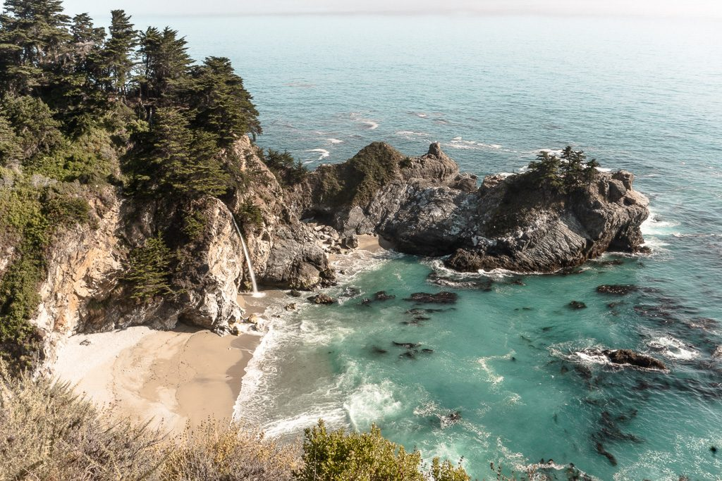 McWay Falls in Big Sur on the California Coast