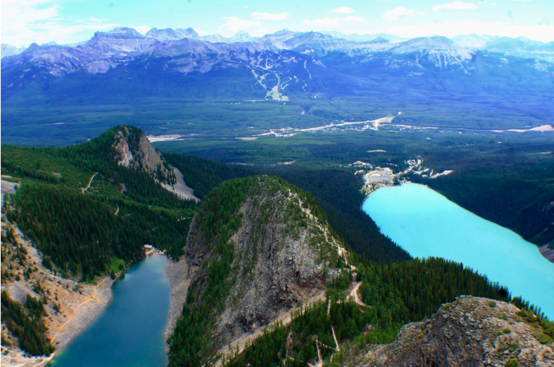 Devil's Thumb, Guide to Hiking Lake Louise Banff Guide