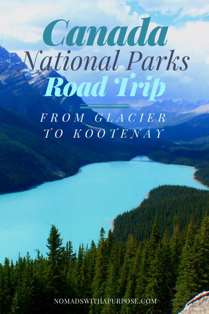 Canadian National Parks Road Trip PIN-2