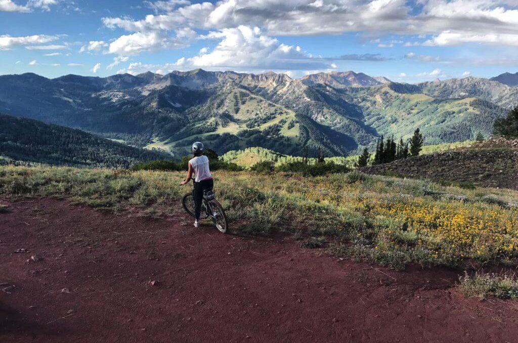 living adventurous life, Park City mountain biking
