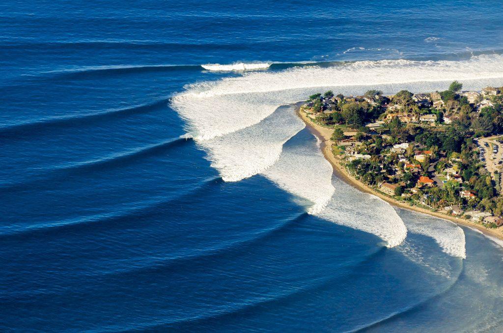 Surfing Rincon, Surfing the California Coast