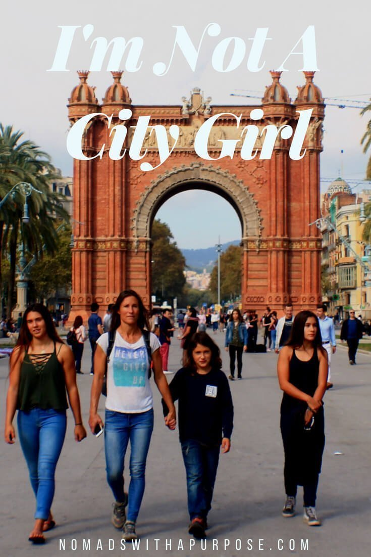 im not a city girl Pinterest image