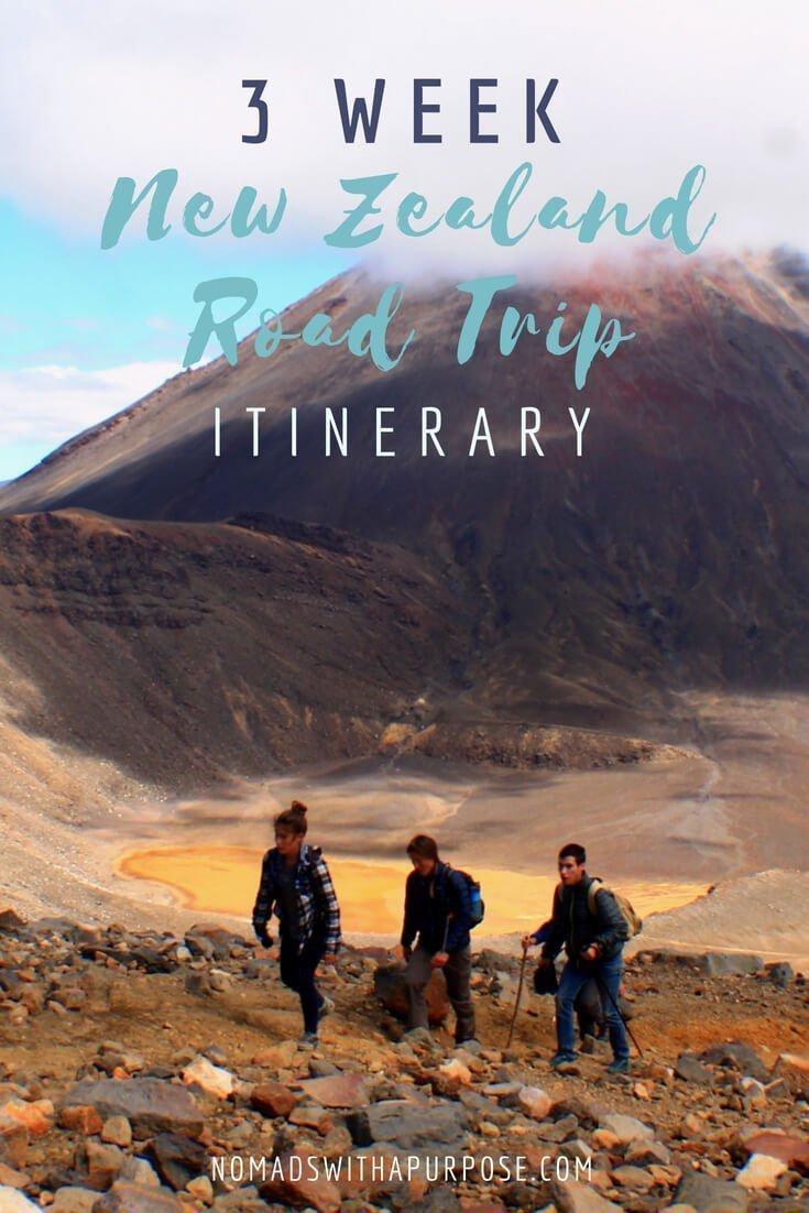 3-Week New Zealand Itinerary