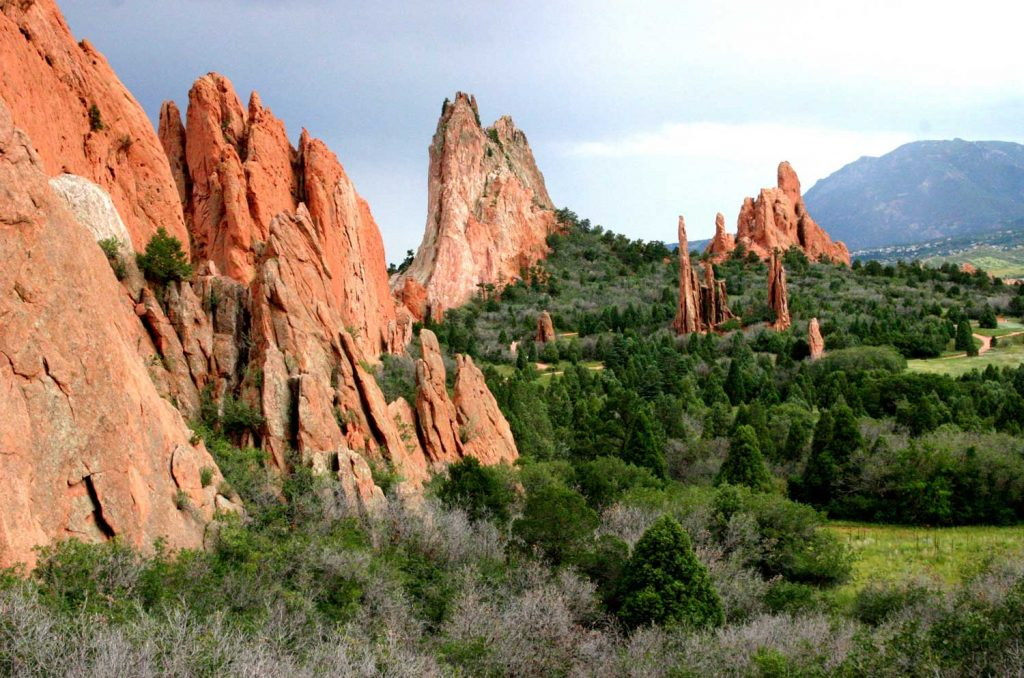 Garden of the Gods, Colorado Road Trip Itinerary