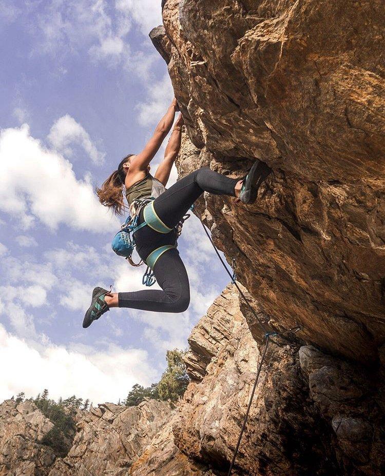 Gab Climbing Clear Creek Canyon Co