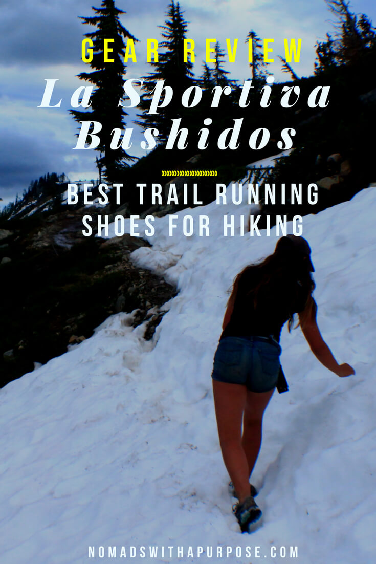 best trail running shoes for hiking: La Sportiva Bushido Review 1