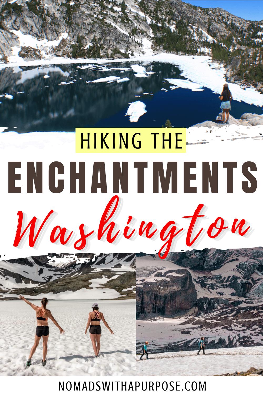 Hiking the Enchantments Pin