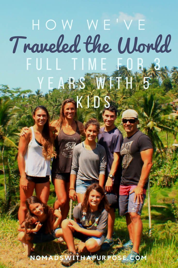 How We've Traveled the World Full Time for 3 Years with 5 Kids