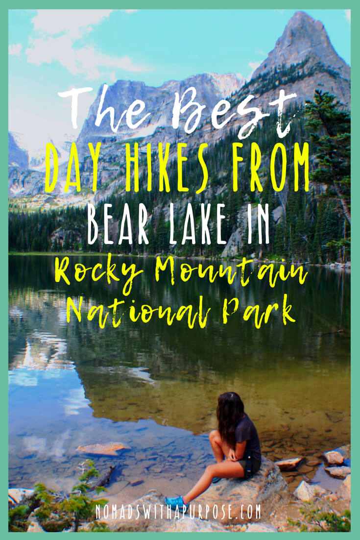 the best day hikes from bear lake in Rocky Mountain national park