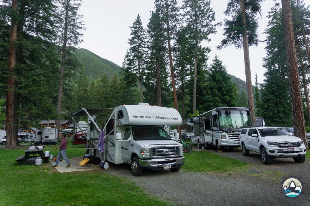 Camping in Joseph, Oregon
