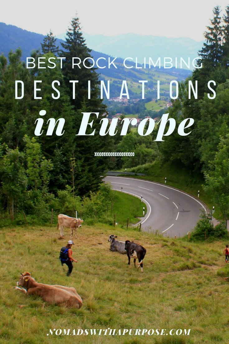 Best Places To Go Rock Climbing In Europe With Beginner Friendly Routes