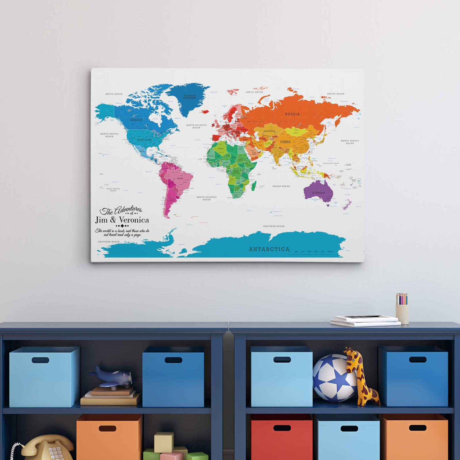 Push Pin Travel Maps, Gift guide for adventure travelers
