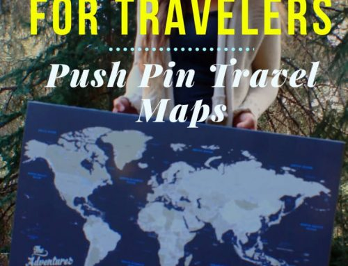 Push Pin Travel Maps: The Best Gift for Travelers