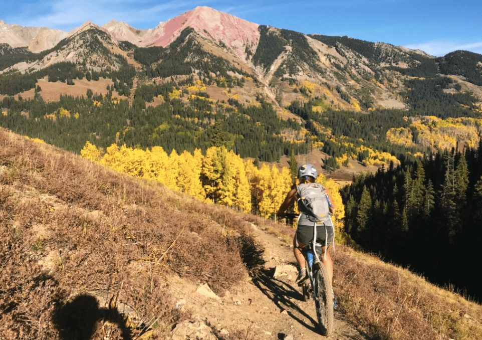 403 Trail, things to do in Crested Butte in October, west coast road trip