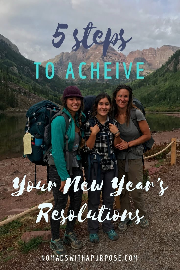 5 Simple Steps To Achieve Your New Year's Resolutions