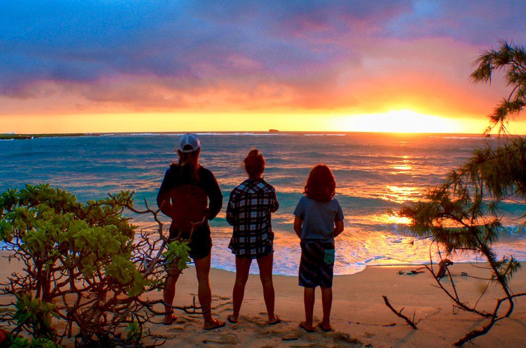 Camping Hawaii Malaekahana Oahu
