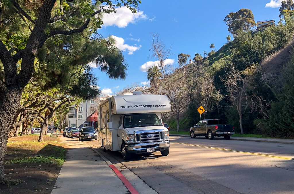 Finding Free Camping in Industrial Areas