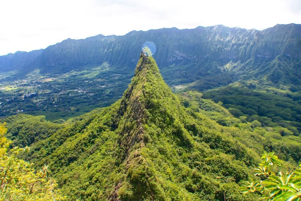 Olomana ridge hike is a must do outdoor adventure in Oahu