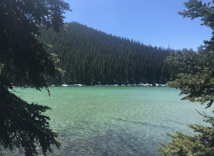 Cascade Lakes Highway: Devil's Lake