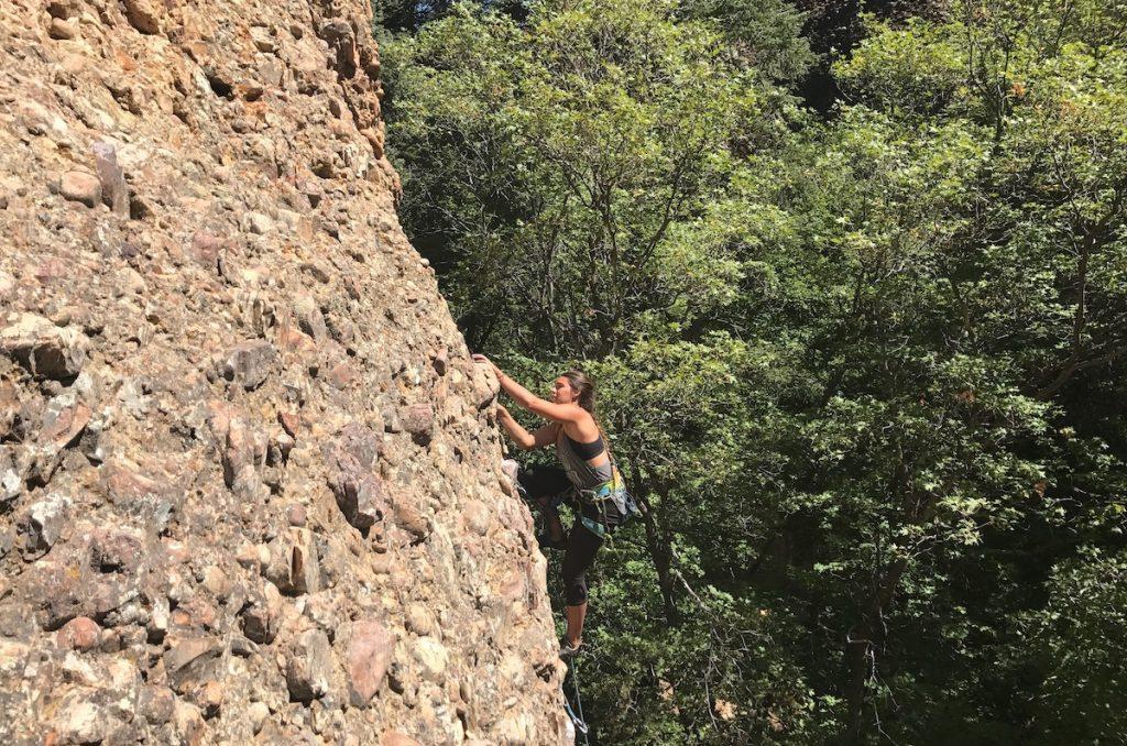 Maple Canyon climbing in Utah