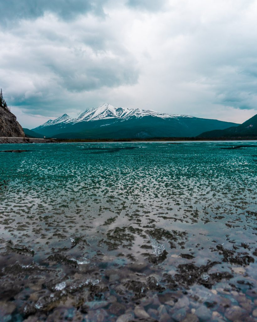 Muncho Lake, Strawberry Flats Campground, Alaska Highway