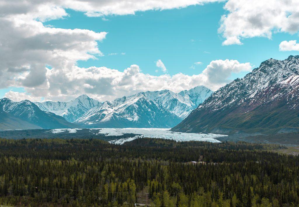 Matanuska Glacier, Alaska Highway