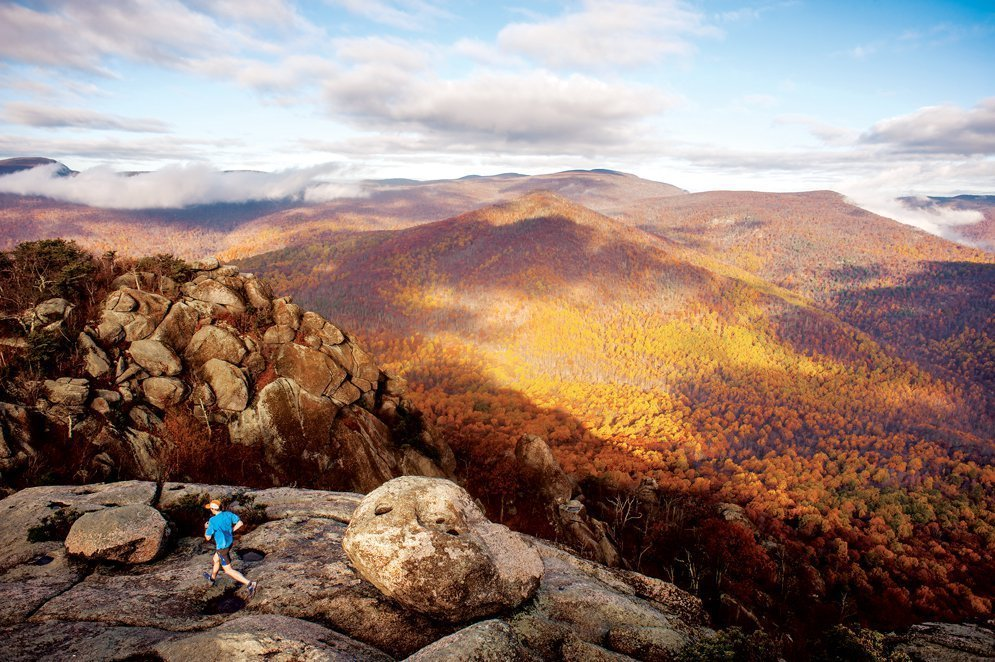 Old Rag Mountain in Shenandoah National Park, hikes in Vermont