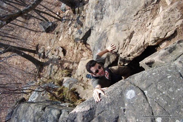Breakneck Ridge in Hudson Valley, Northeast USA hikes and scrambles