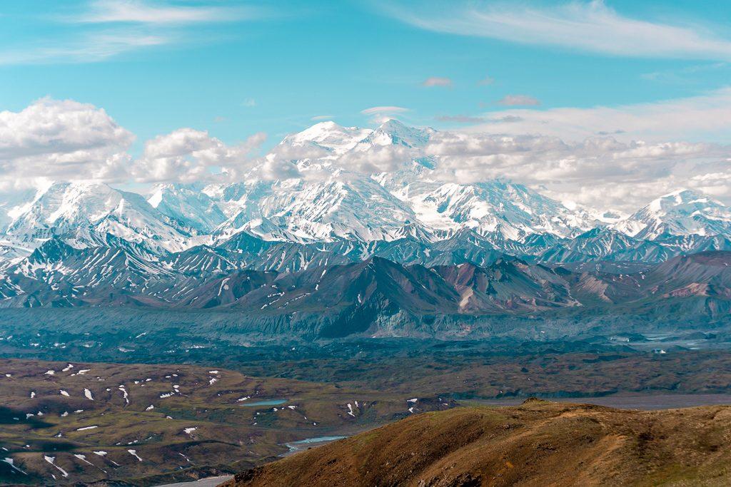 Eilson Alpine Trail, Denali National Park, Hiking and Camping, Alaska