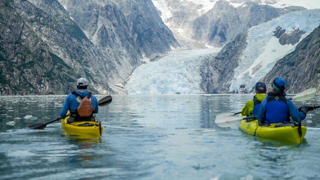 Kayaking kenai fjord from Seward, Alaska, Kenai Peninsula