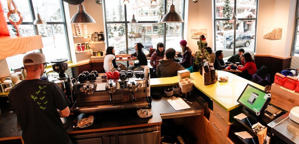Whistler things to do, Mount Currie CoffeeCo