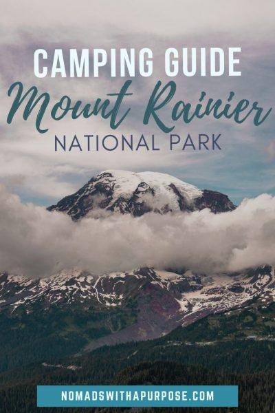 Camping Mt Rainier