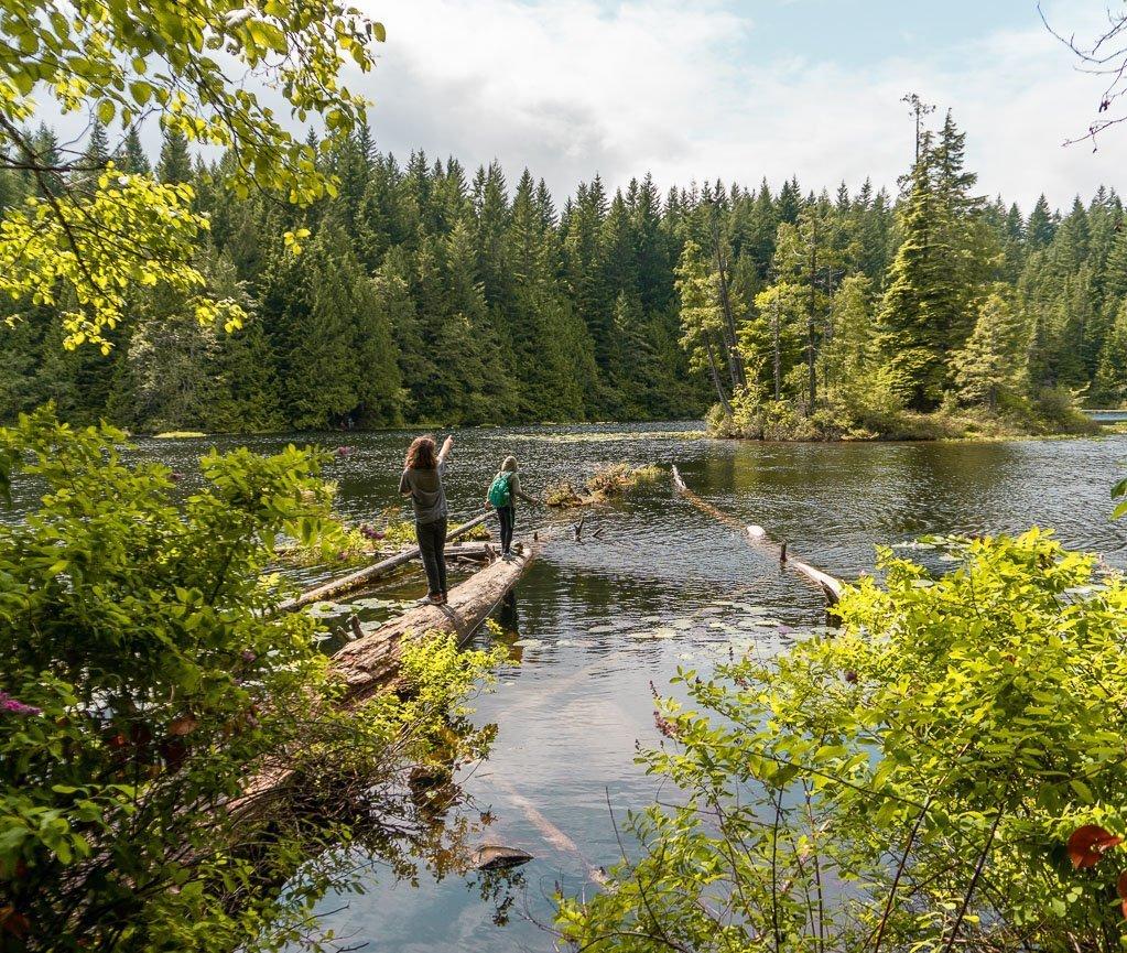 Four Lakes, Camping Alice Lake