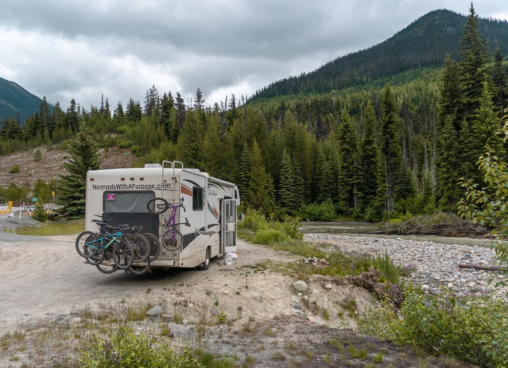 Free Camping Spot in Whistler