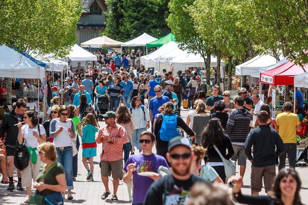 Whistler Things to do, Farmers Market