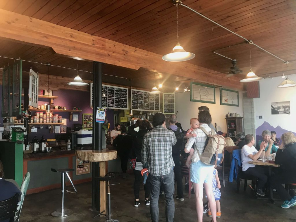 zephyr cafe, things to do in Squamish