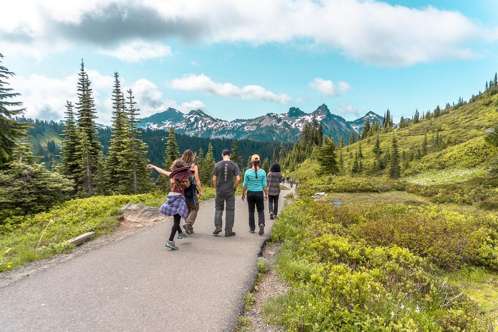 Hiking Paradise Mount Rainier NP