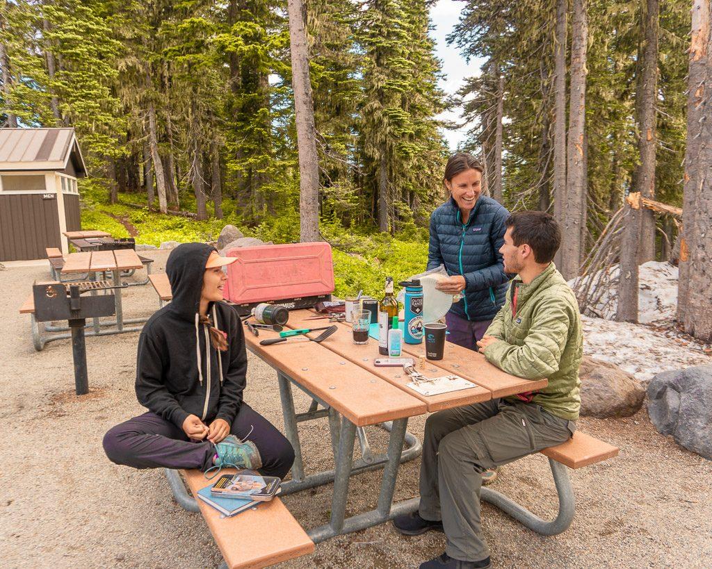 Picnic at Mount Rainier, Things to do in Mount Rainier