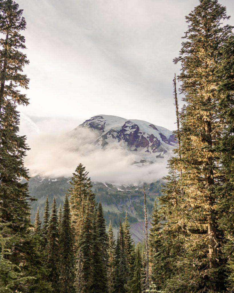 Sunset on Mount Rainier, Tips for visiting Mount Rainier