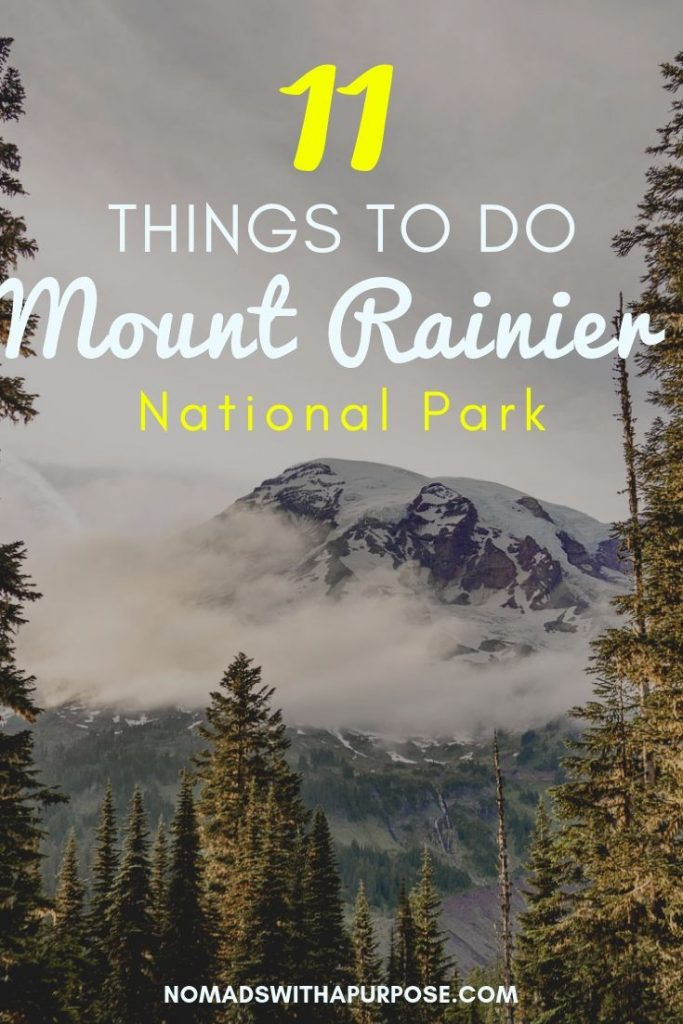 things to do mt rainier + tips for visiting