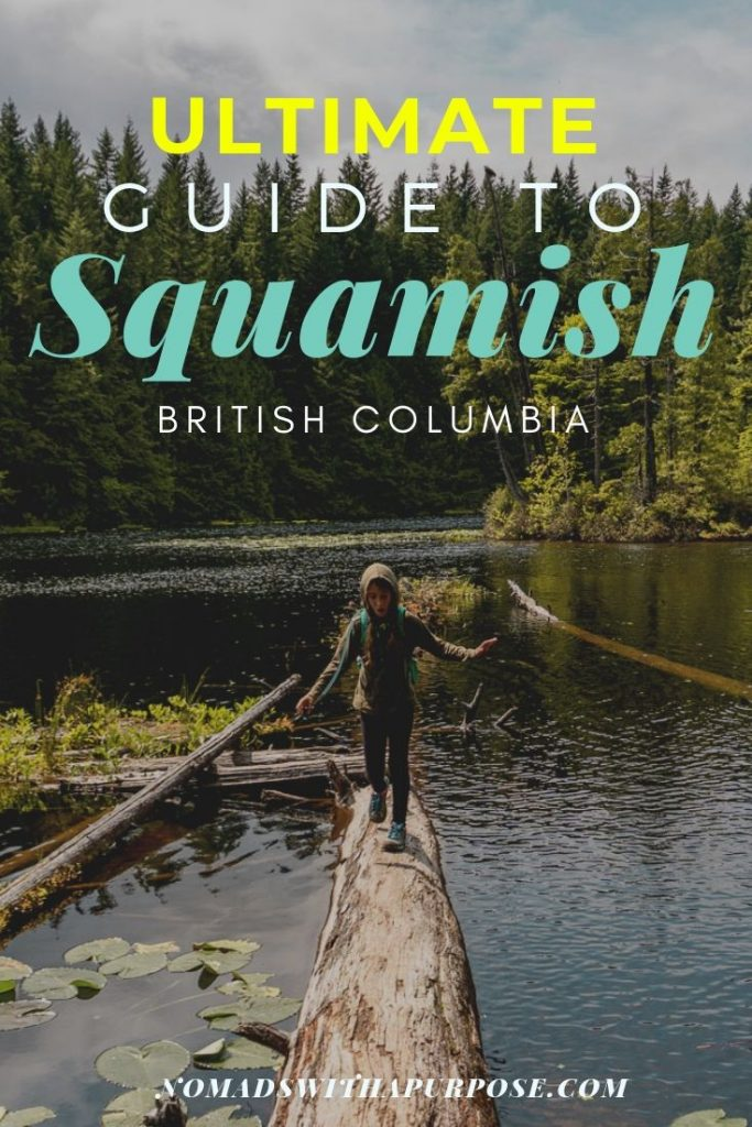 things to do in Squamish: adventure travel guide