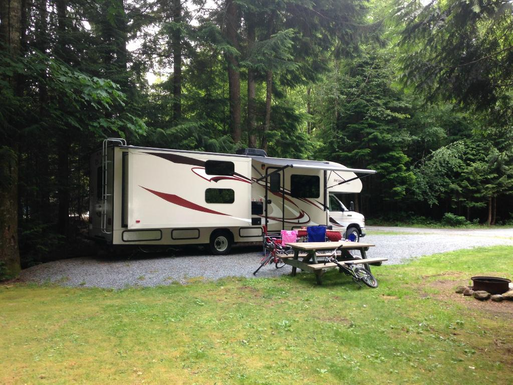 Squamish Camping at MTN Fun Camp • Nomads With A Purpose