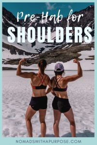 Shoulder Prehab Exercises