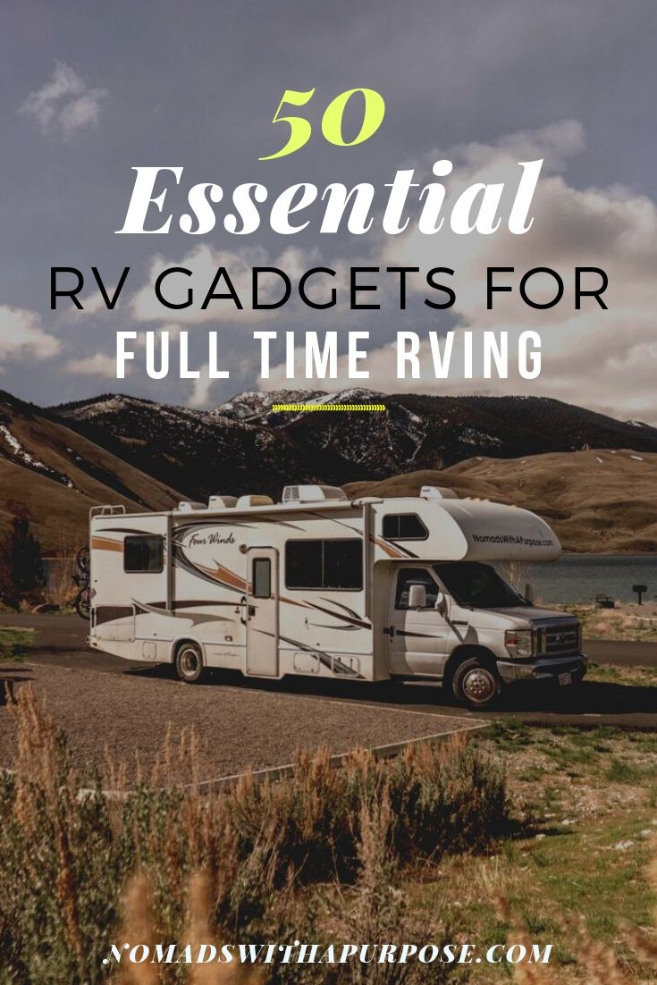 rv gadgets for full time rv living