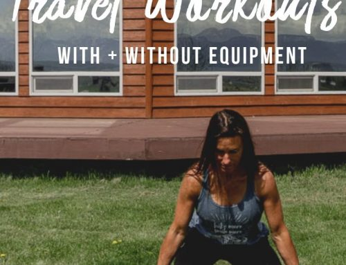 5 Fun Travel Workouts With + Without Equipment